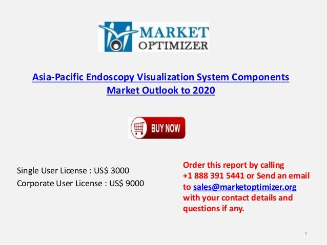 Asia-Pacific Endoscopy Visualization System Components  Market Outlook to 2020  Single User License : US$ 3000  Corporate ...