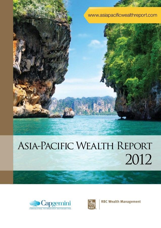 www.asiapacificwealthreport.com  Asia-Pacific Wealth Report  2012