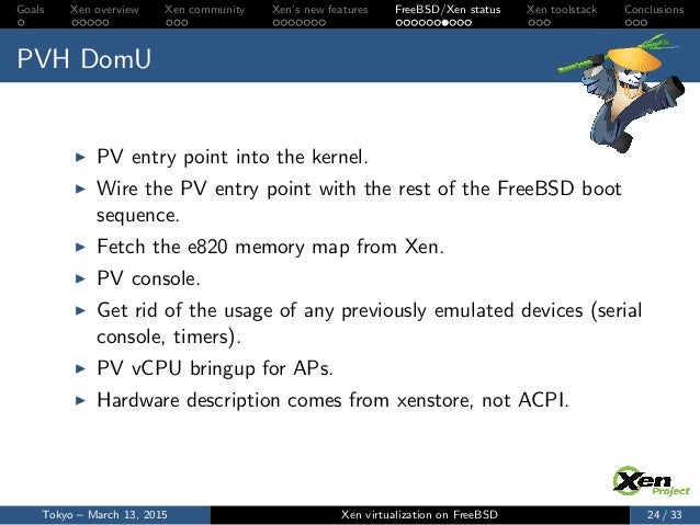 bsdcon asia 2015 xen on freebsd