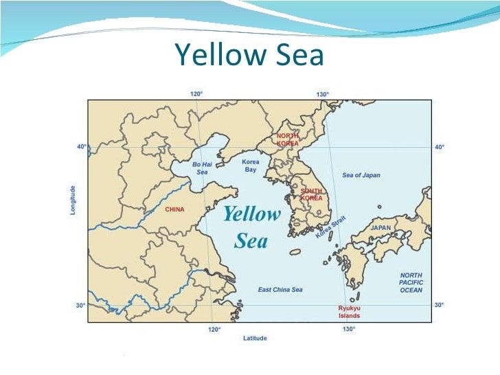 Asia map study 13 yellow sea gumiabroncs Gallery