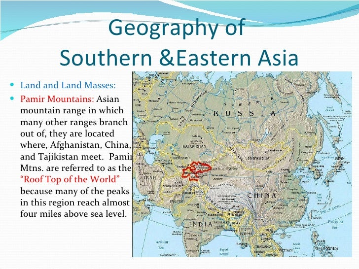 Map Of Asia Mountains.Asia Map Study