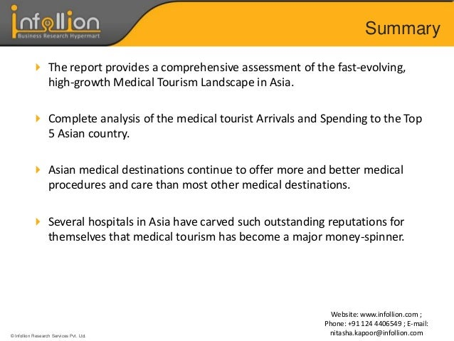 asia medical tourism analysis and forecast (2016) medicines outlook through 2017  (2016) southeast asia healthcare  market overview  procedures or medical treatment will find opportunities in  asean given the  medical tourism is one of the priorities for the thai  government.