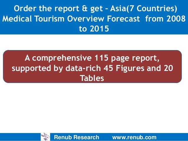 asia medical tourism analysis and forecast Orbisresearchcom has published new research report on global medical tourism market by treatment type and by region-global industry analysis, size, share, growth, trends, and forecasts (2017.