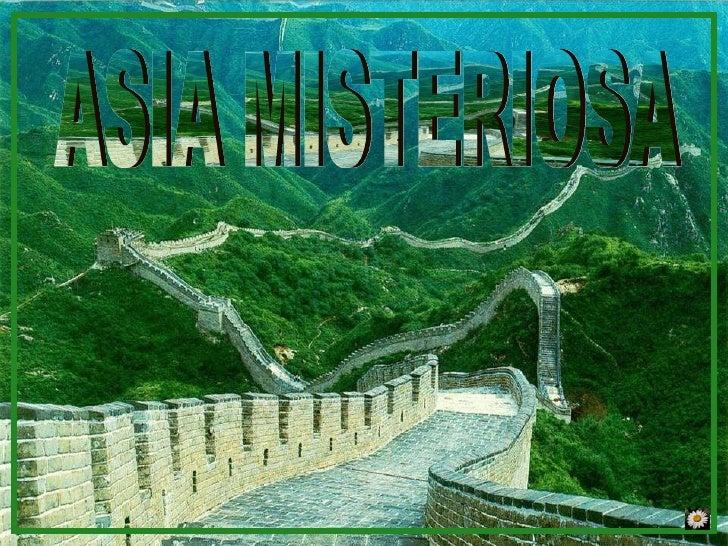 ASIA MISTERIOSA