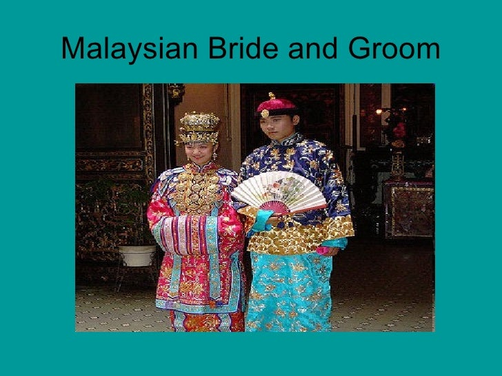 Malaysian Bride and Groom