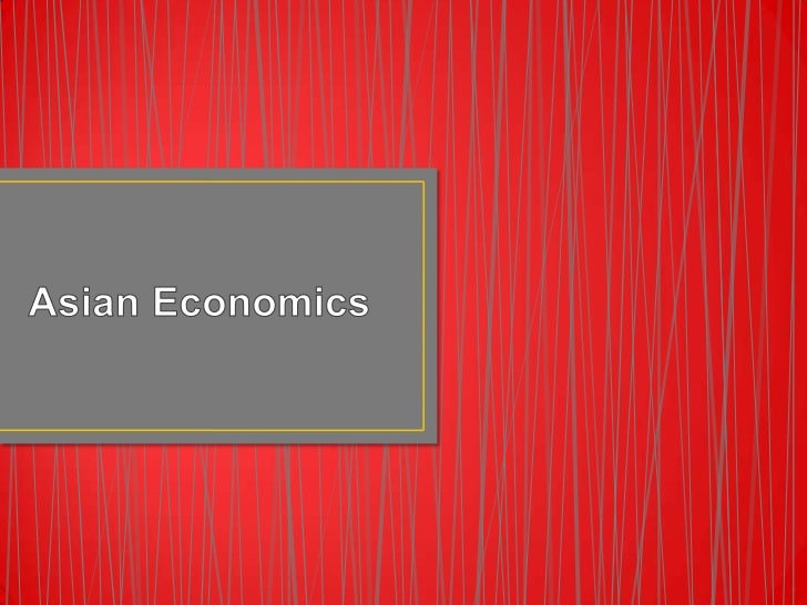 Asian Economics<br />
