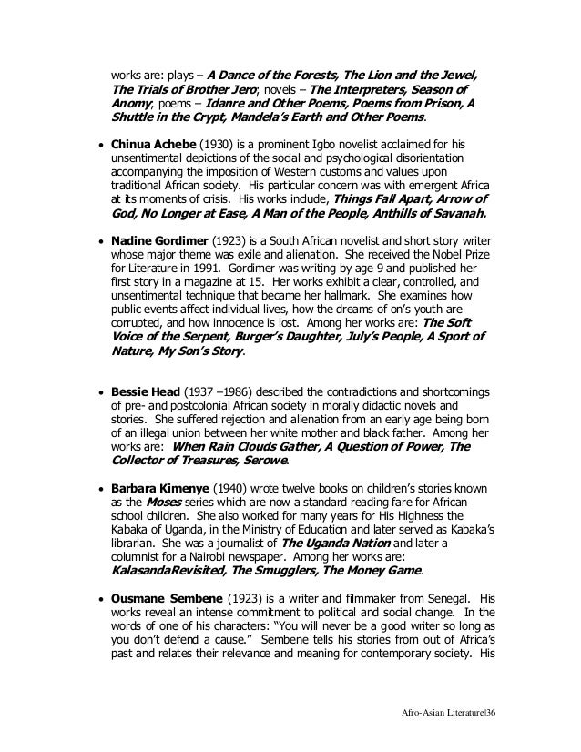 Characteristics of asian tales