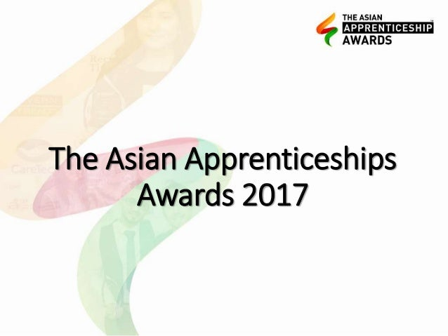 The Asian Apprenticeships Awards 2017