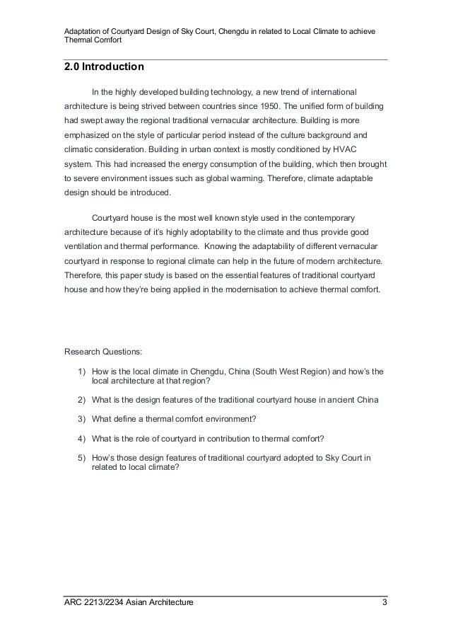 Asian architecture case study