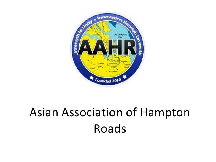 Asian Association of Hampton Roads