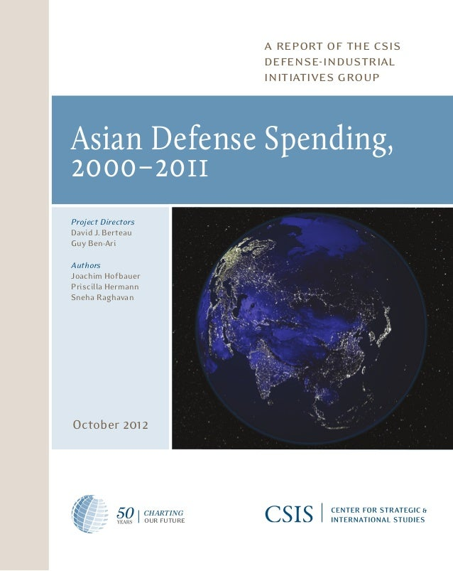 a report of the csis                                                                                defense-industrial    ...
