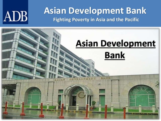 asian development bank adb