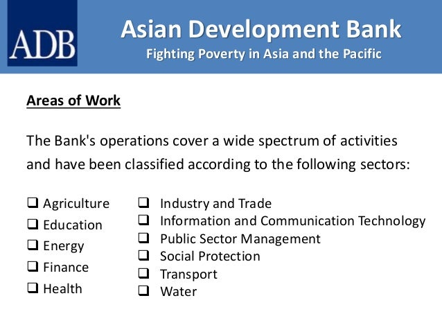 It's good asian development bank scholarships