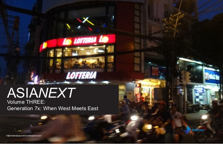 ASIANEXTVolume THREE:Generation 7x: When West Meets Easthttp://www.bonjourvietnamehereicome.com