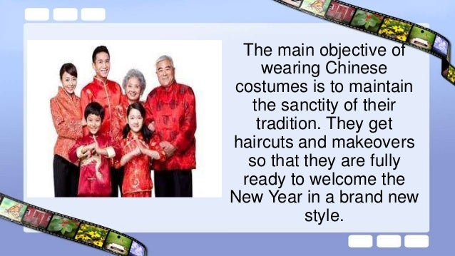 Traditionally women wear the cheongsams and qipaos while the men wear the mandarin collared shirts with the Chinese dragon...