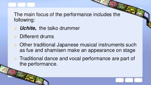  Include pieces based on the traditional rhythms of regional Japan, pieces composed for Kodo by contemporary songwriters,...