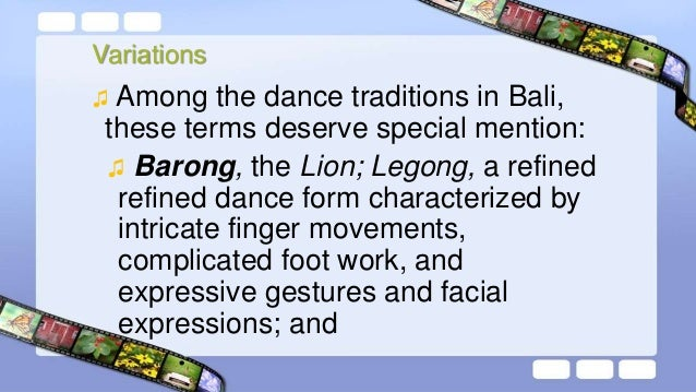 Training of Bali Dance ♫ Bali dancers learn the craft from their mothers as soon as they are born. In the womb, they are p...