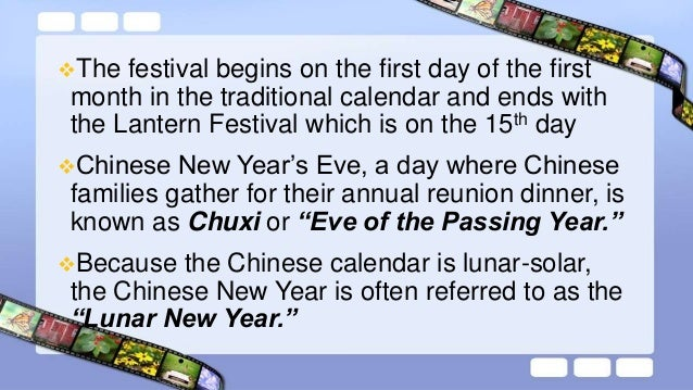 The following are the China's customs and traditions concerning the celebration of the Chinese New Year: People will pour...