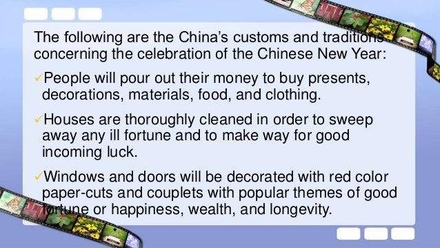 On the Eve of Chinese New Year, supper is feast with families. Food will include item such as pork, duck, meat, chicken, ...