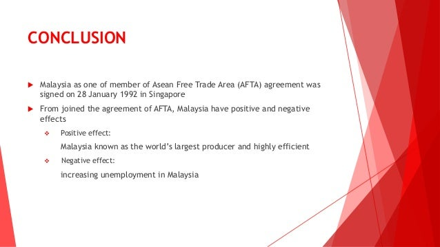 asean free trade area Regional economic integration is an agreement among countries in a geographic region to reduce and ultimately remove tariff and non-tariff barriers to the free flow of goods or services and factors of production among each other (ghani et al , 2008) it can be also refers as any type of.