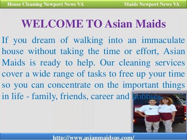 Asian maids housekeeping newport news va