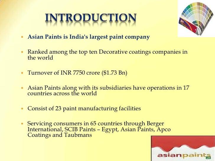 Asian paints tag line