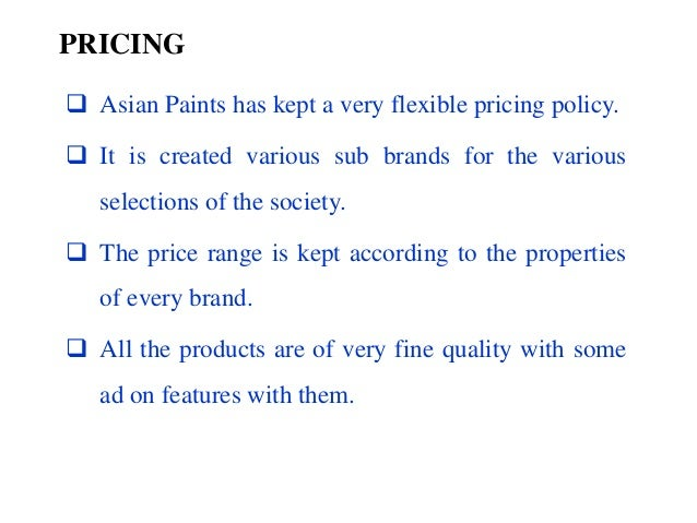 Asian paint limited