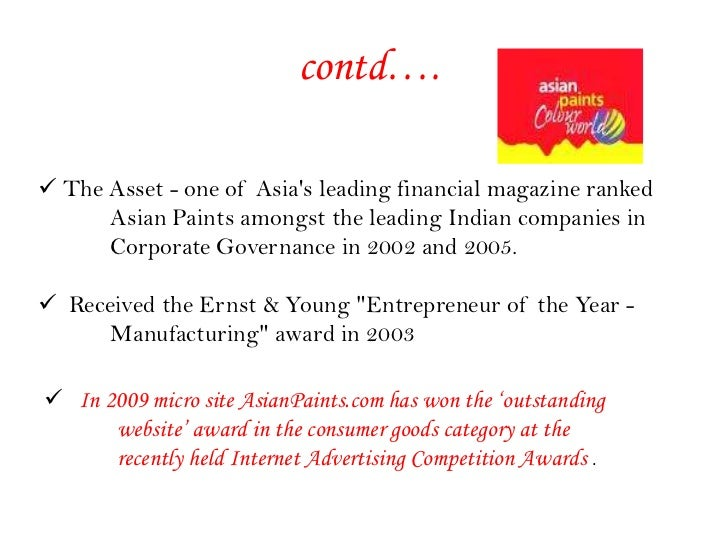 Asian paints quote