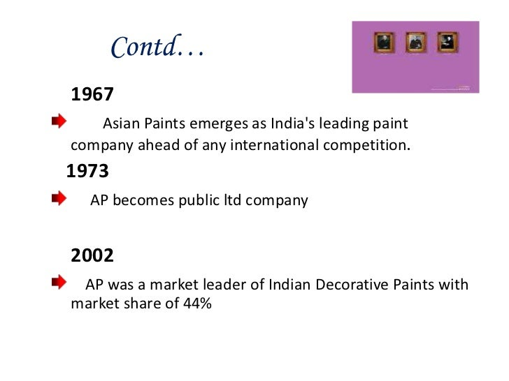 asian paints case study Asian paints ltd international architecture is a harvard business (hbr) case study on global business , fern fort university provides hbr case study assignment help for just $11 our case solution is based on case study method expertise & our global insights.