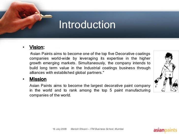 asian paints introduction The section gives detailed corporate information on asian paints visit us today  for more.