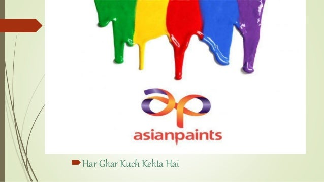 Asian paints har ghar kuch kehta hai