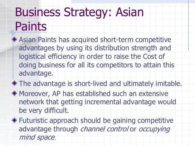 asian paints marketing strategy