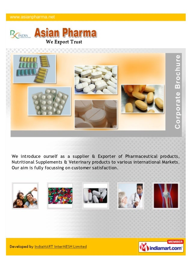 We are supplying our products Amoxicillin, Azithromycin as per the buyersrequirements Moreover, unbreakable interactions w...