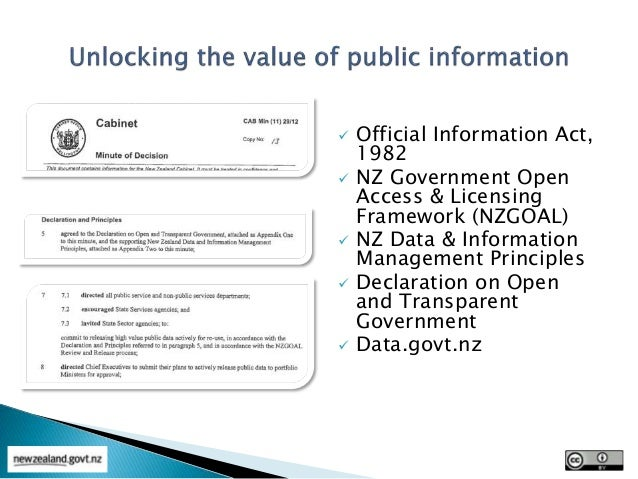 Image result for New Zealand's Declaration on Open and Transparent Government.