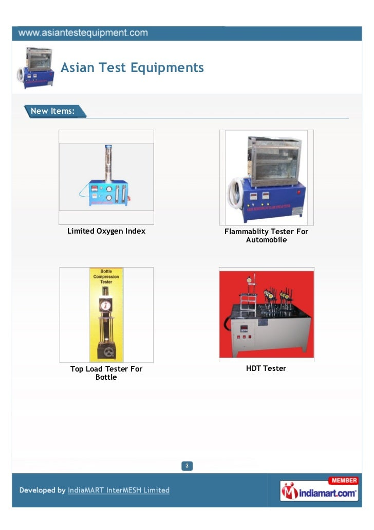 Asian Test Equipments, Ghaziabad,  Bundesmann Apparatus Slide 3