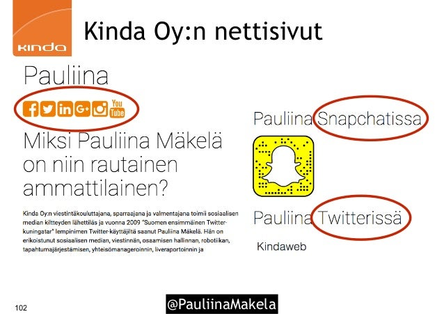 @PauliinaMakela102 Kinda Oy:n nettisivut