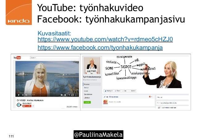 @PauliinaMakela111 YouTube: työnhakuvideo Facebook: työnhakukampanjasivu Kuvasitaatit: https://www.youtube.com/watch?v=rdm...