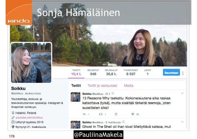@PauliinaMakela178 Sonja Hämäläinen