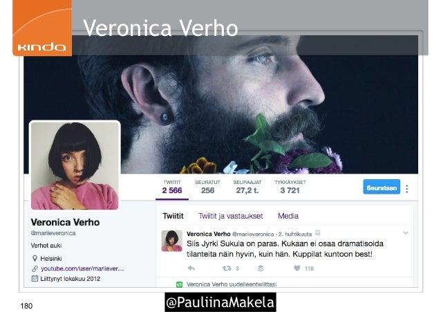 @PauliinaMakela180 Veronica Verho