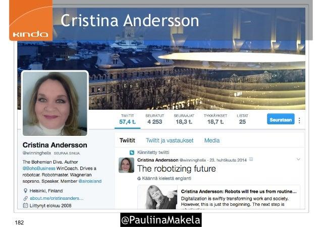 @PauliinaMakela182 Cristina Andersson