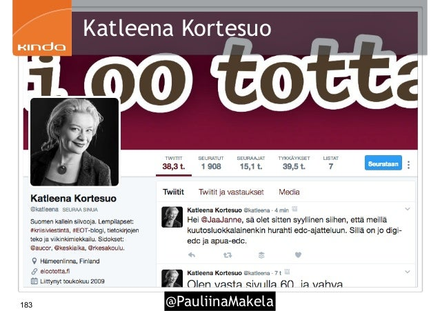 @PauliinaMakela183 Katleena Kortesuo