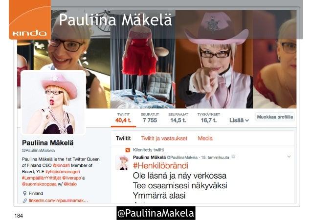 @PauliinaMakela184 Pauliina Mäkelä