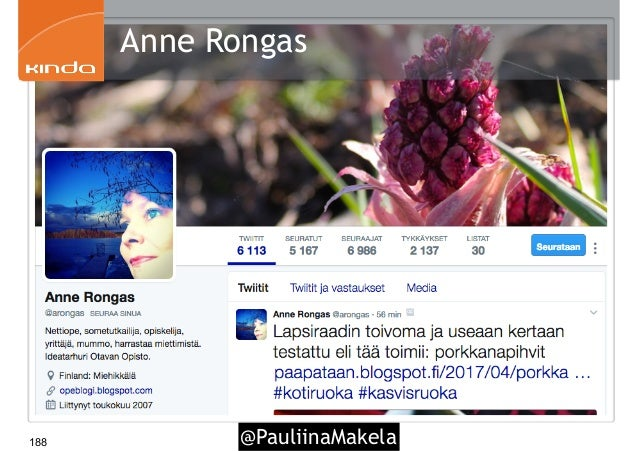 @PauliinaMakela188 Anne Rongas