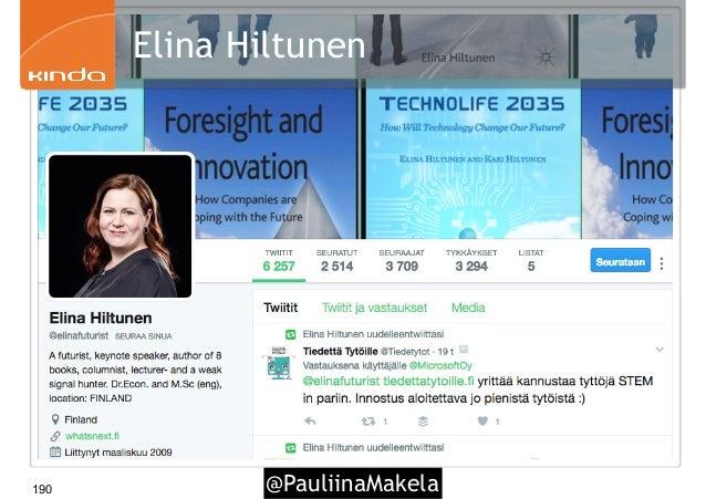 @PauliinaMakela190 Elina Hiltunen
