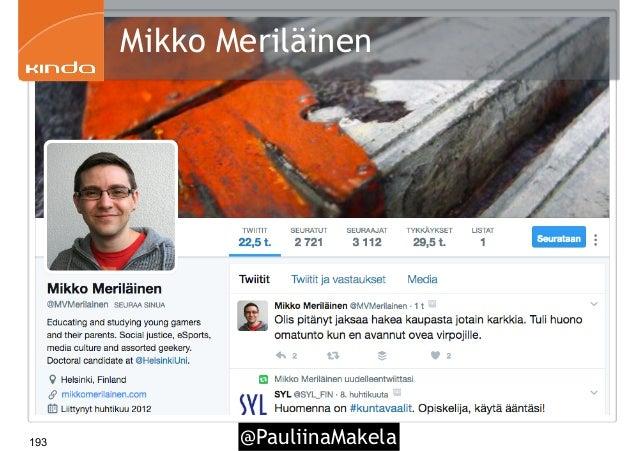 @PauliinaMakela193 Mikko Meriläinen