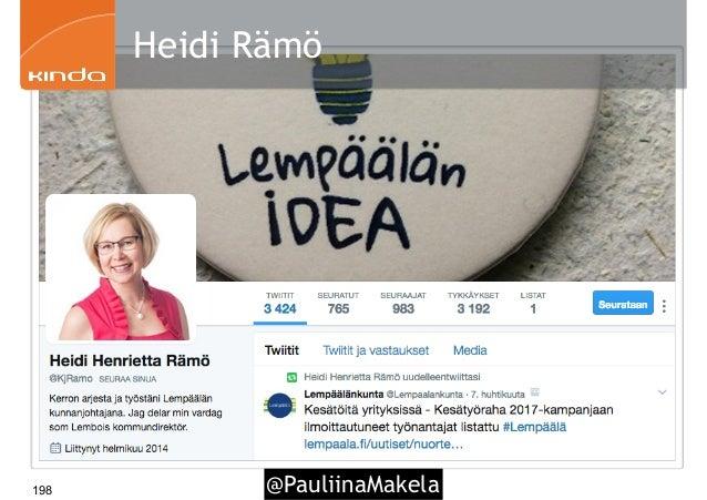 @PauliinaMakela198 Heidi Rämö
