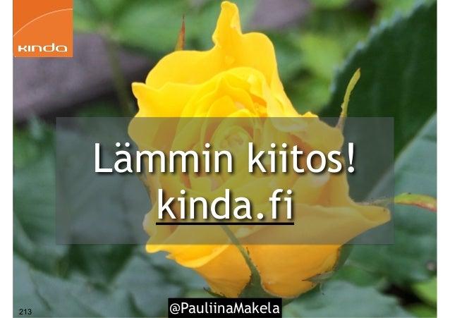 @PauliinaMakela213 Lämmin kiitos! kinda.fi