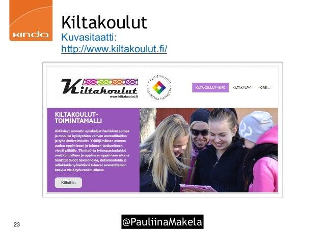 @PauliinaMakela23 Kiltakoulut Kuvasitaatti: http://www.kiltakoulut.fi/