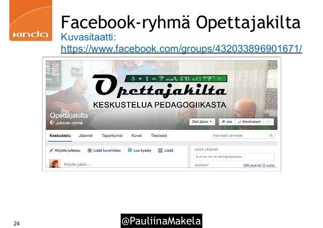 @PauliinaMakela24 Facebook-ryhmä Opettajakilta Kuvasitaatti: https://www.facebook.com/groups/432033896901671/