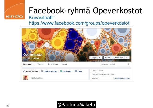 @PauliinaMakela26 Facebook-ryhmä Opeverkostot Kuvasitaatti: https://www.facebook.com/groups/opeverkostot
